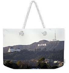 Hollywood Hills And Griffith Observatory Weekender Tote Bag
