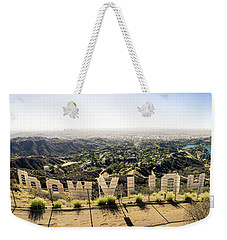 Hollywood Weekender Tote Bag by Michael Weber