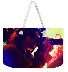 Hollywood Paparazzi Weekender Tote Bag