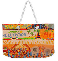 Hollywood Parade Weekender Tote Bag