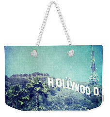 Hollywood Sign Weekender Tote Bag by Nina Prommer