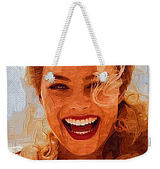 Hollywood Star Margot Robbie Weekender Tote Bag