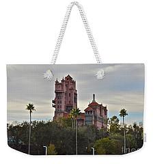Hollywood Studios Tower Of Terror Weekender Tote Bag by Carol  Bradley