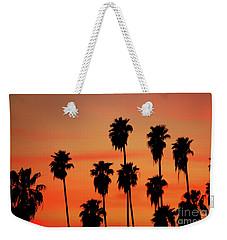Hollywood Sunset Weekender Tote Bag