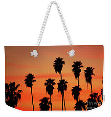 Hollywood Sunset Weekender Tote Bag by Mariola Bitner
