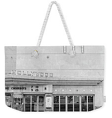 Hollywood Theater Marquee Weekender Tote Bag