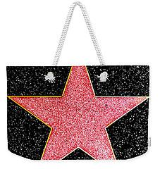 Hollywood Walk Of Fame Star Weekender Tote Bag