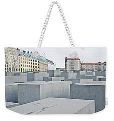 Holocaust Memorial Weekender Tote Bag by Tom Gowanlock