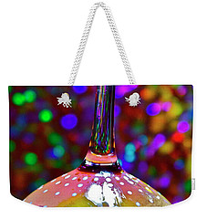 Holographic Fruit Drop Weekender Tote Bag by Xn Tyler