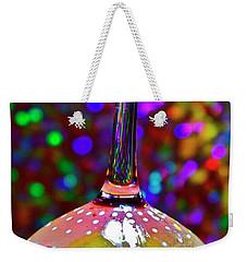 Holographic Fruit Drop Weekender Tote Bag