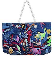 Holonomic Multiverse  Weekender Tote Bag