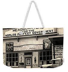Holy City World Government Santa Clara County California 1938 Weekender Tote Bag