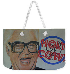 Holy Cow Weekender Tote Bag by Melissa Goodrich