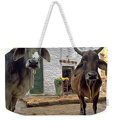Holy Cow Weekender Tote Bag