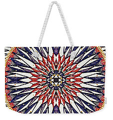 Weekender Tote Bag featuring the painting Holy Dog Star by Kym Nicolas