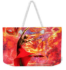 Holy Spirit Fire Weekender Tote Bag