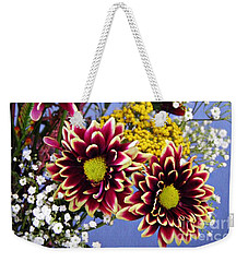 Weekender Tote Bag featuring the photograph Holy Week Flowers 2017 4 by Sarah Loft