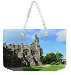 Holyrood Abbey Ruins In Edinburgh Scotland Weekender Tote Bag