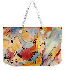 Homage A Kandinsky Weekender Tote Bag by Bernard Goodman