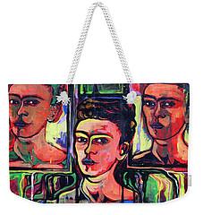 Homage To Frida Kahlo Weekender Tote Bag