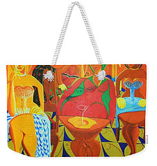 Homage To The Mighty Sparrow Weekender Tote Bag
