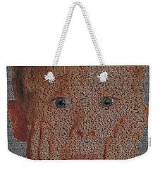 Home Alone Script Mosaic Weekender Tote Bag