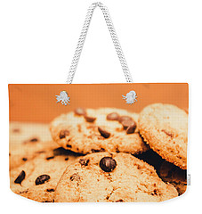 Home Baked Chocolate Biscuits Weekender Tote Bag