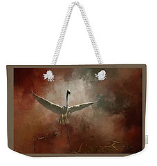 Weekender Tote Bag featuring the photograph Home Coming by Marvin Spates