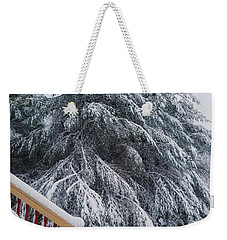 Home For The Blizzard Weekender Tote Bag