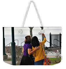 Home For The Holidays Weekender Tote Bag by John Glass