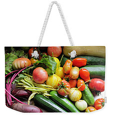 Home Garden Fruit Weekender Tote Bag