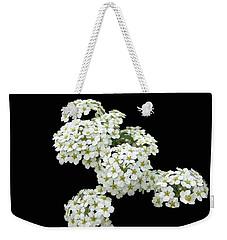 Home Grown White Flowers  Weekender Tote Bag