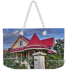 Home In The Tropics Weekender Tote Bag by Nadia Sanowar