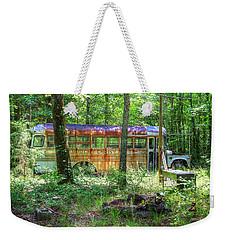 Home In The Woods Weekender Tote Bag