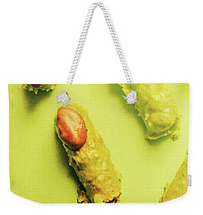 Home Made Severed Finger Halloween Candies Weekender Tote Bag