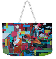 Home Of The Chicken Weekender Tote Bag