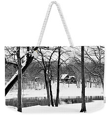 Home On The River Weekender Tote Bag