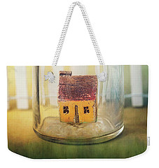 Weekender Tote Bag featuring the photograph Home Sweet Home by Amy Weiss