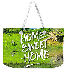 Home Sweet Home Pastoral Versailles Chateau Country Landscape Weekender Tote Bag