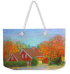 Home Sweet Home  Weekender Tote Bag by Rae  Smith