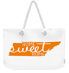 Weekender Tote Bag featuring the digital art Home Sweet Home Tennessee by Heather Applegate