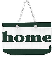 home TN on Green Weekender Tote Bag by Heather Applegate