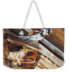 Home Under The Sign Weekender Tote Bag by Lori Brackett