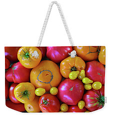 Homegrown Heirloom Tomatoes Weekender Tote Bag