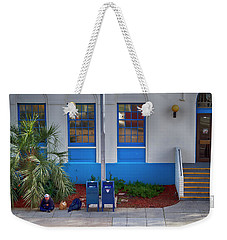 Homeless With Mail Weekender Tote Bag by Hugh Smith