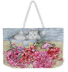 Homely Weekender Tote Bag by Kim Tran