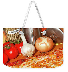 Homemade Pizza Weekender Tote Bag