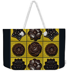 Homemade Pralines Weekender Tote Bag by Marija Djedovic