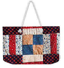 Homemade Quilt Weekender Tote Bag by Christopher Holmes