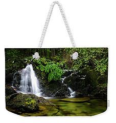 Homesite Falls Autumn Serenity Wide Weekender Tote Bag